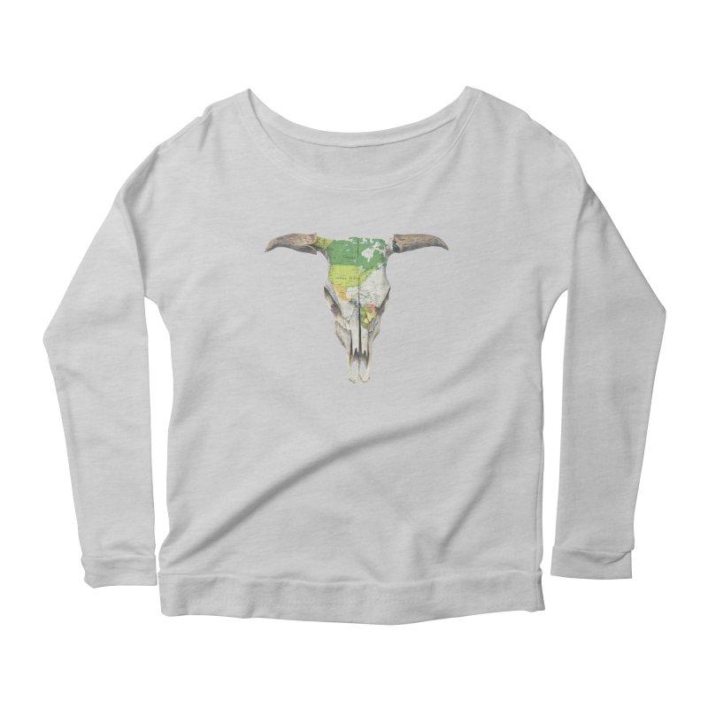 Go West Women's Scoop Neck Longsleeve T-Shirt by terryfan