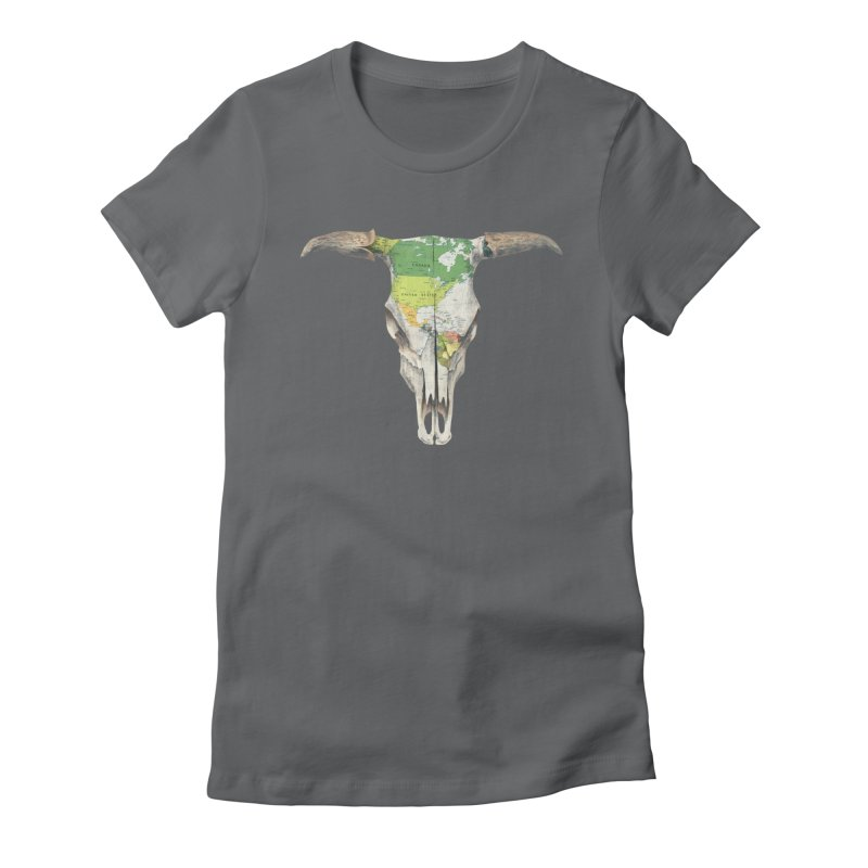 Go West Women's Fitted T-Shirt by terryfan
