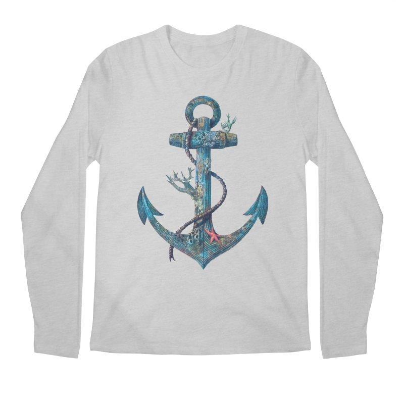 Lost at Sea Men's Longsleeve T-Shirt by terryfan