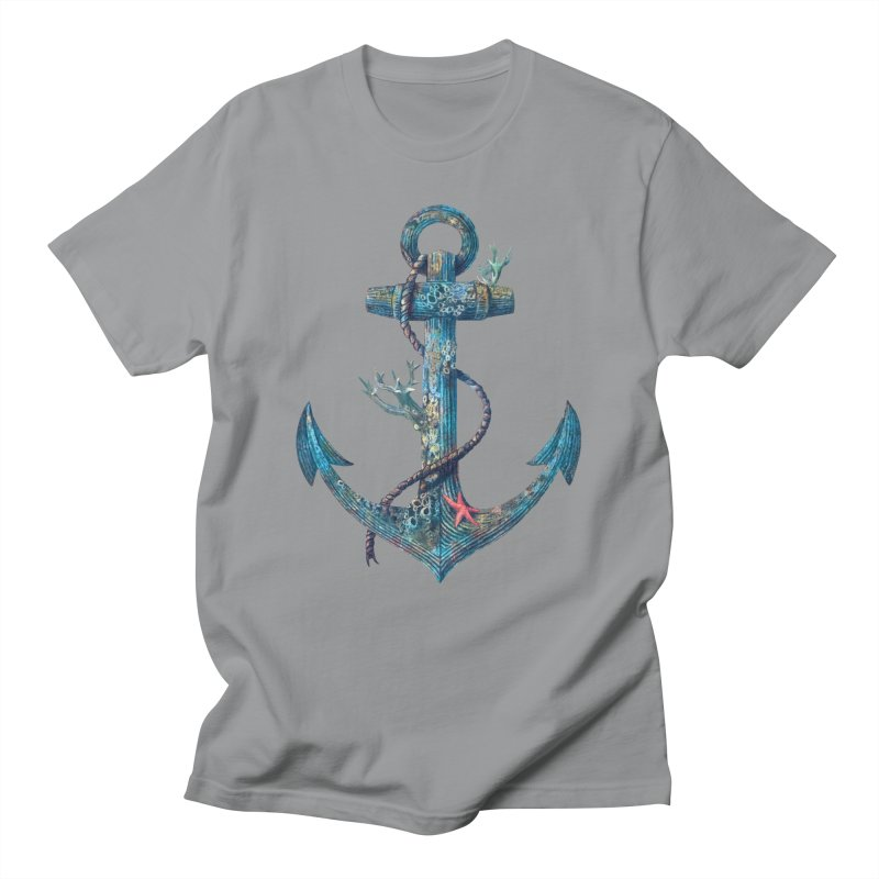 Lost at Sea Men's T-Shirt by terryfan