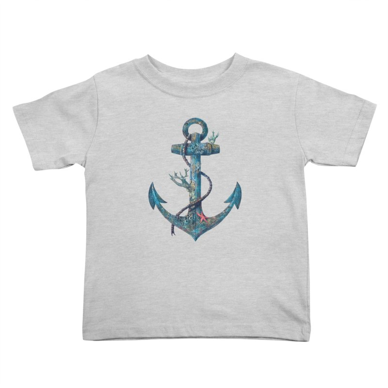 Lost at Sea Kids Toddler T-Shirt by terryfan