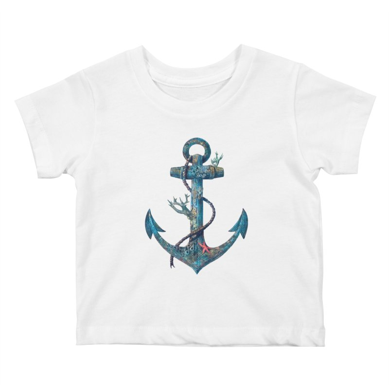 Lost at Sea Kids Baby T-Shirt by terryfan