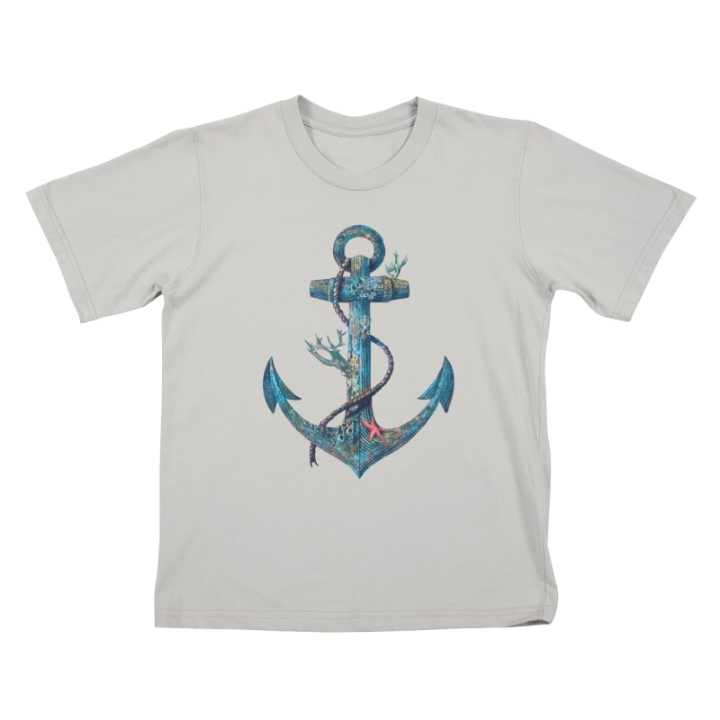 Lost at Sea Kids T-shirt by terryfan
