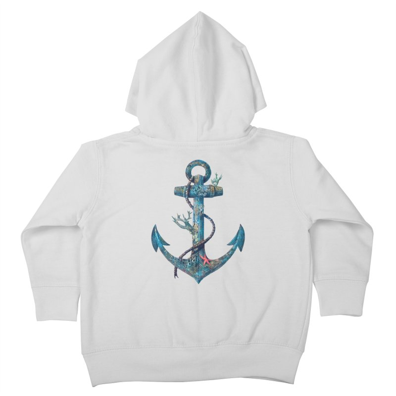 Lost at Sea Kids Toddler Zip-Up Hoody by terryfan