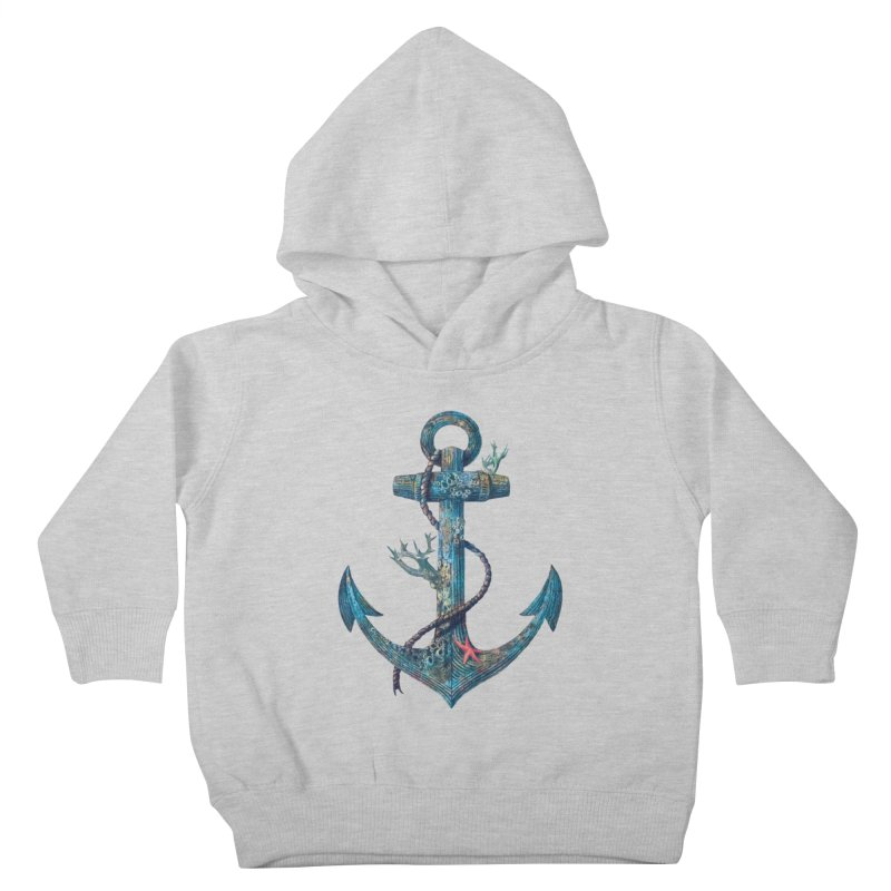 Lost at Sea Kids Toddler Pullover Hoody by terryfan
