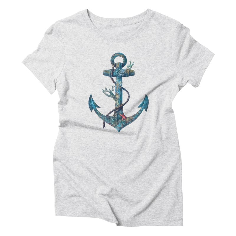 Lost at Sea Women's Triblend T-shirt by terryfan