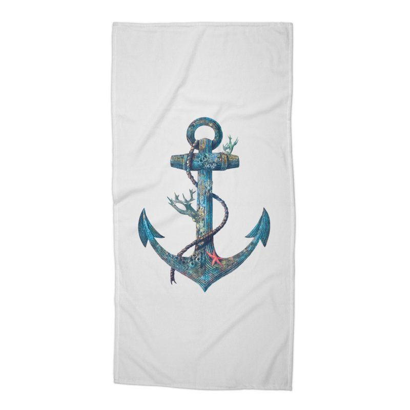 Lost at Sea Accessories Beach Towel by terryfan