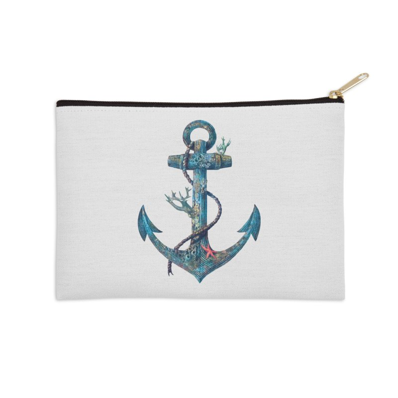 Lost at Sea Accessories Zip Pouch by terryfan
