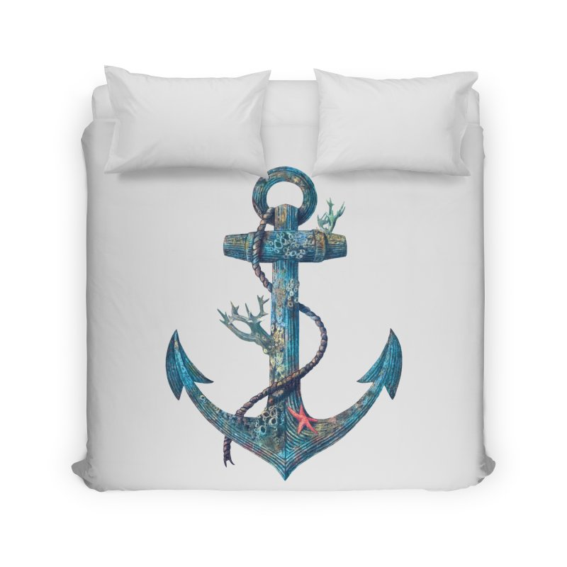 Lost at Sea Home Duvet by terryfan