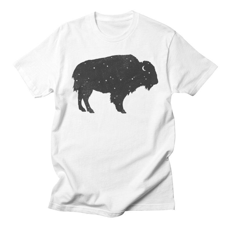 Mystic Buffalo Men's T-shirt by terryfan