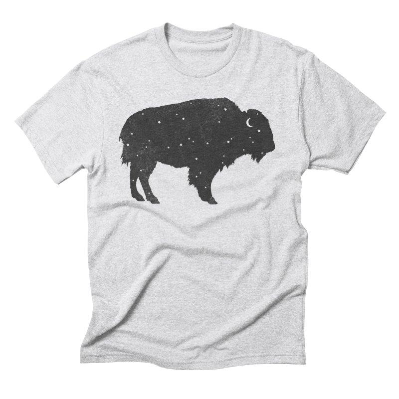 Mystic Buffalo Men's Triblend T-shirt by terryfan