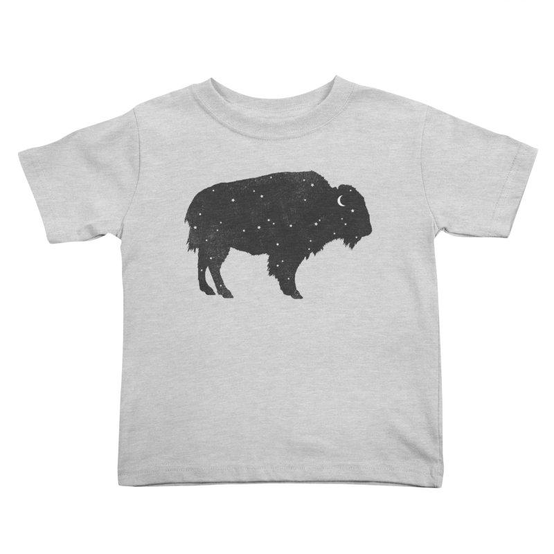 Mystic Buffalo Kids Toddler T-Shirt by terryfan