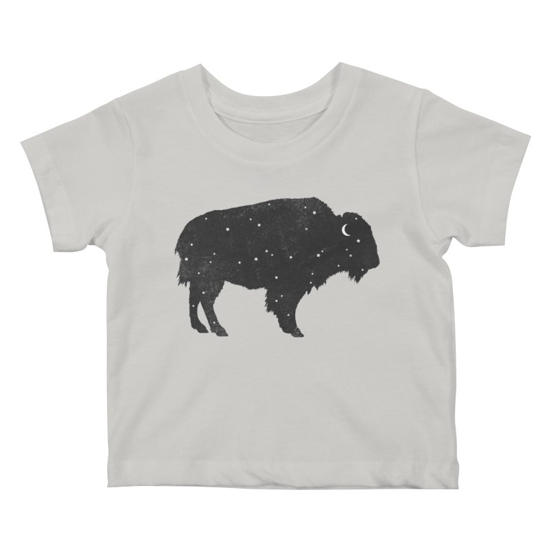 Mystic Buffalo Kids Baby T-Shirt by terryfan