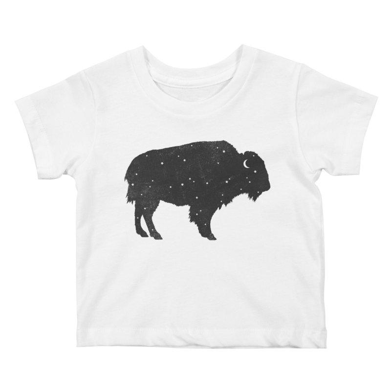 Mystic Buffalo Kids Baby T-Shirt by terryfan