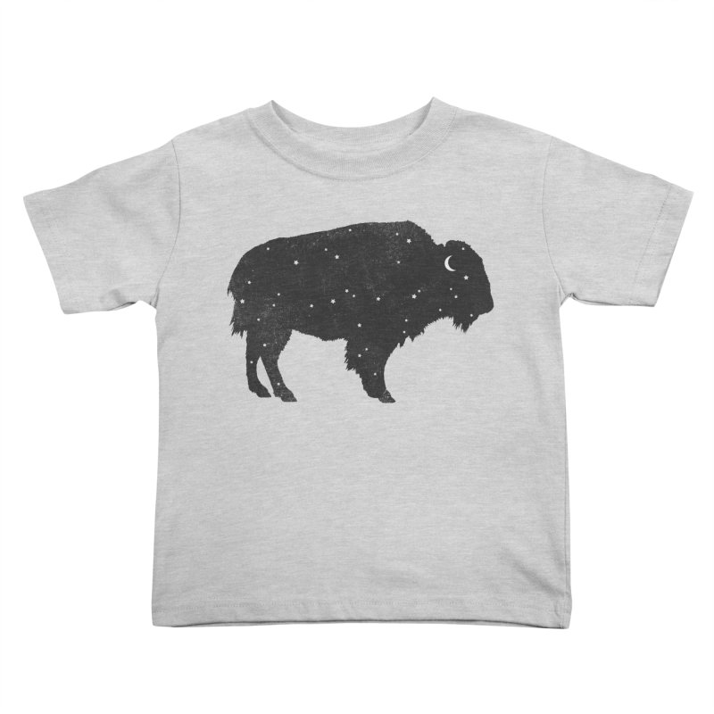 Mystic Buffalo Kids Toddler T-Shirt by terryfan