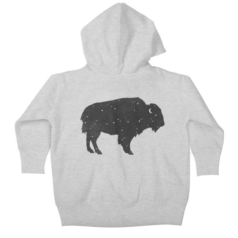 Mystic Buffalo Kids Baby Zip-Up Hoody by terryfan