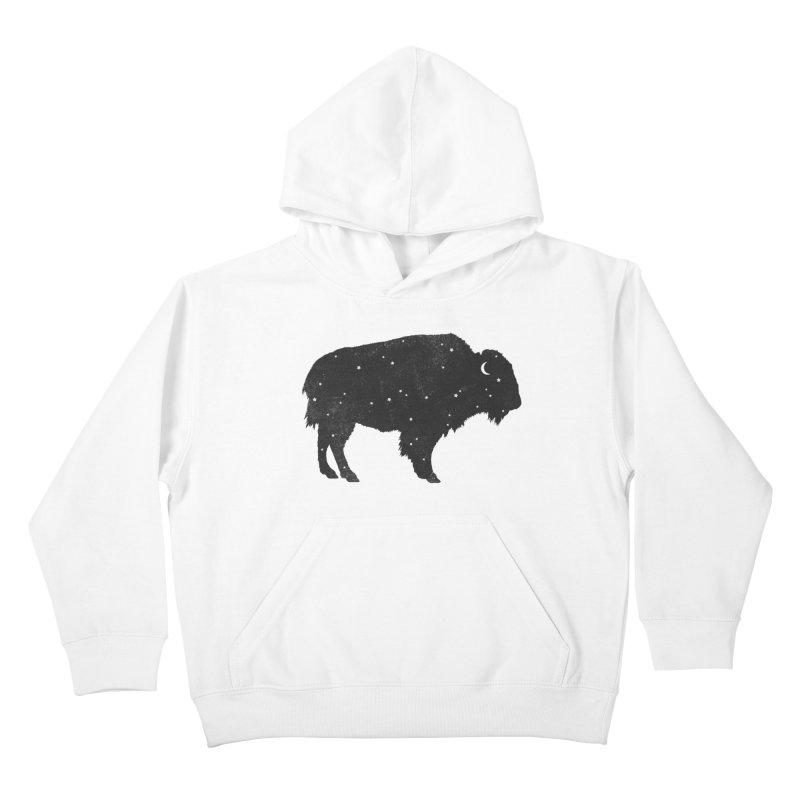 Mystic Buffalo Kids Pullover Hoody by terryfan