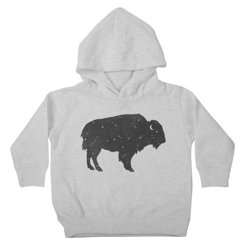 Mystic Buffalo Kids Toddler Pullover Hoody by terryfan