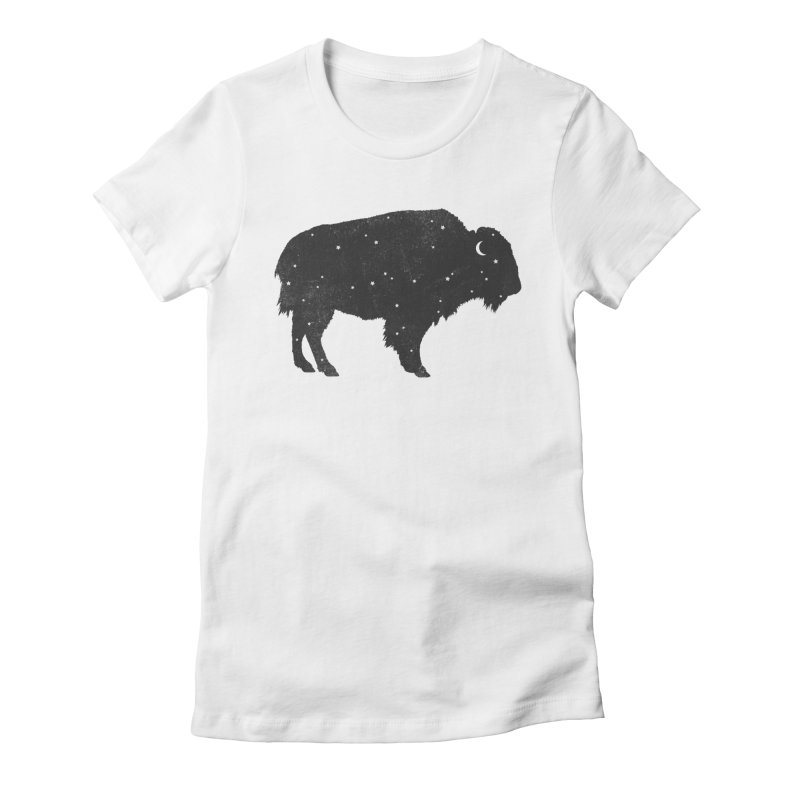 Mystic Buffalo Women's Fitted T-Shirt by terryfan