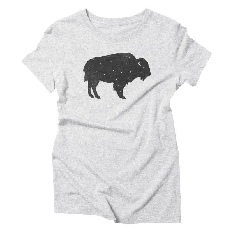 Mystic Buffalo Women's Triblend T-shirt by terryfan