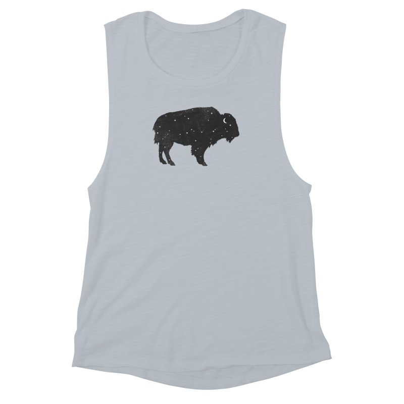 Mystic Buffalo Women's Muscle Tank by terryfan