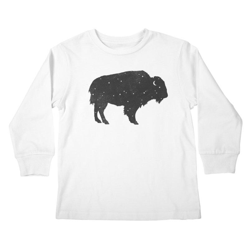Mystic Buffalo Kids Longsleeve T-Shirt by terryfan
