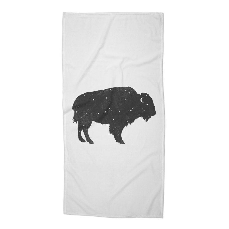 Mystic Buffalo Accessories Beach Towel by terryfan