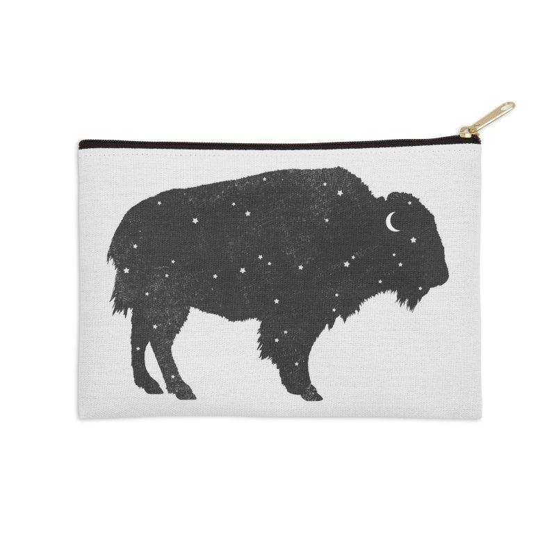 Mystic Buffalo Accessories Zip Pouch by terryfan