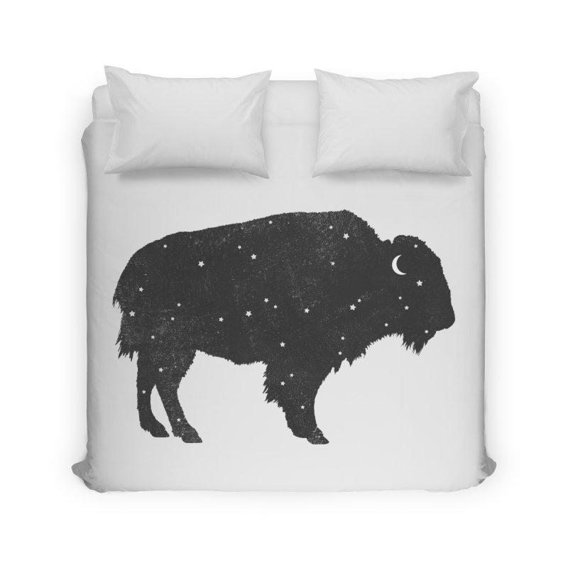 Mystic Buffalo Home Duvet by terryfan