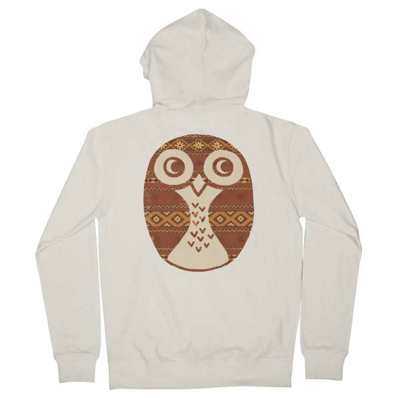 Navajo Owl Women's Zip-Up Hoody by terryfan