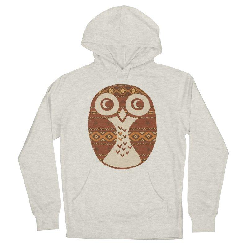 Navajo Owl Women's Pullover Hoody by terryfan