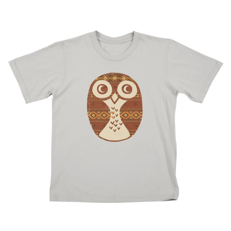 Navajo Owl Kids T-shirt by terryfan