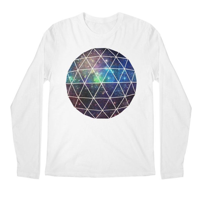 Space Geodesic Men's Longsleeve T-Shirt by terryfan