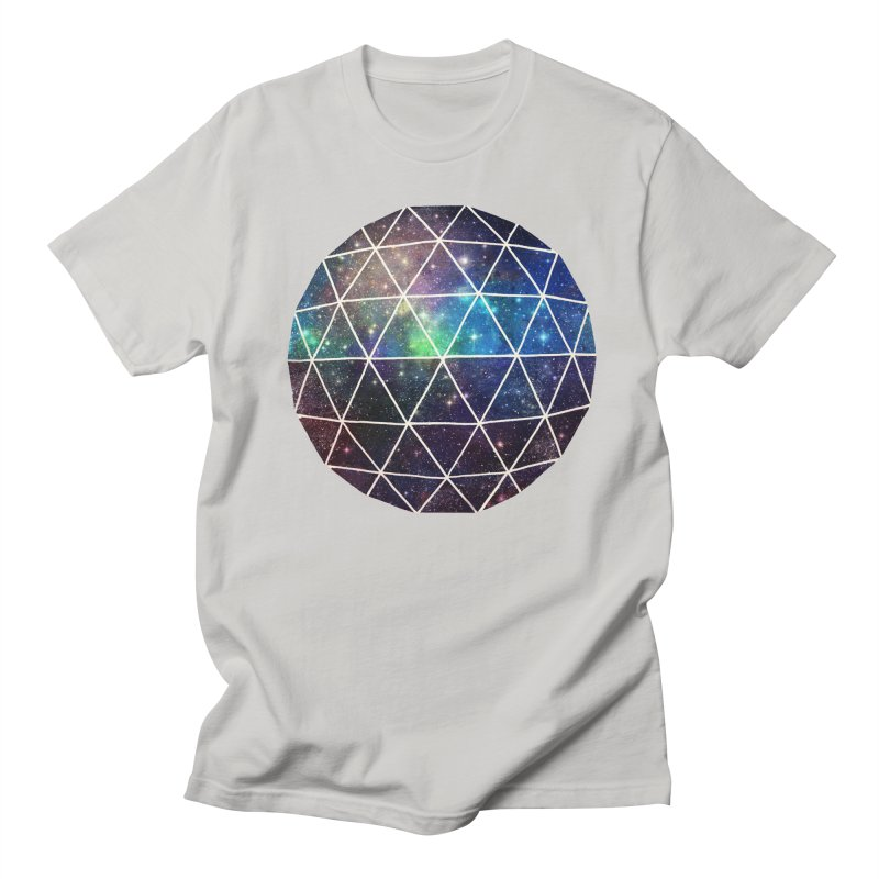 Space Geodesic Men's T-Shirt by terryfan