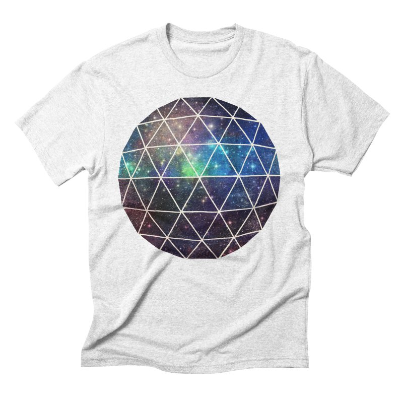 Space Geodesic Men's Triblend T-shirt by terryfan