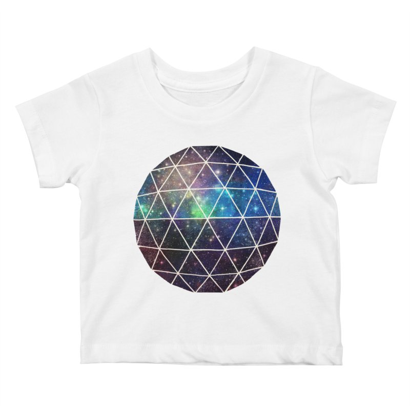 Space Geodesic Kids Baby T-Shirt by terryfan