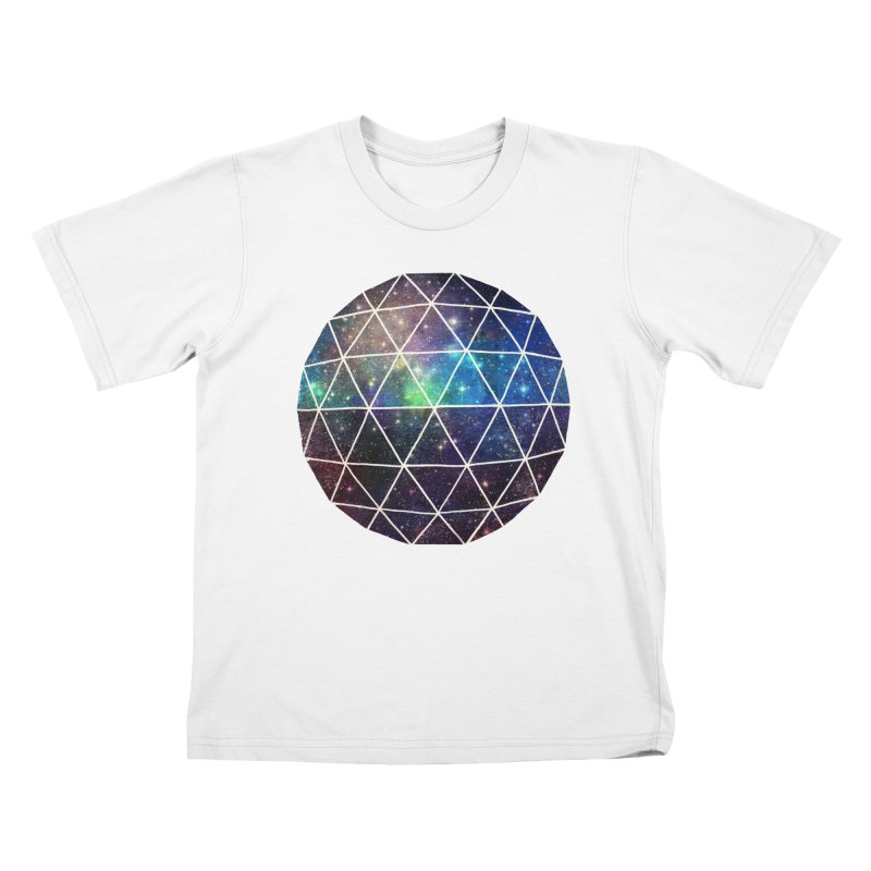 Space Geodesic Kids T-shirt by terryfan