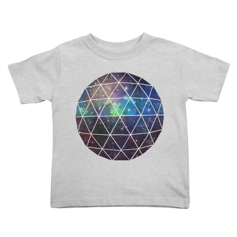 Space Geodesic Kids Toddler T-Shirt by terryfan