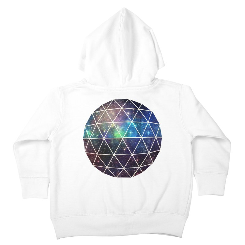 Space Geodesic Kids Toddler Zip-Up Hoody by terryfan