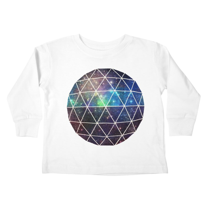 Space Geodesic Kids Toddler Longsleeve T-Shirt by terryfan