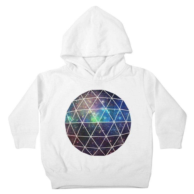 Space Geodesic Kids Toddler Pullover Hoody by terryfan