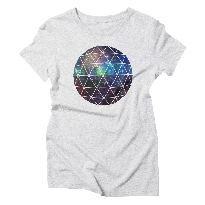 Space Geodesic Women's Triblend T-shirt by terryfan