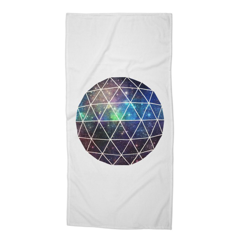 Space Geodesic Accessories Beach Towel by terryfan