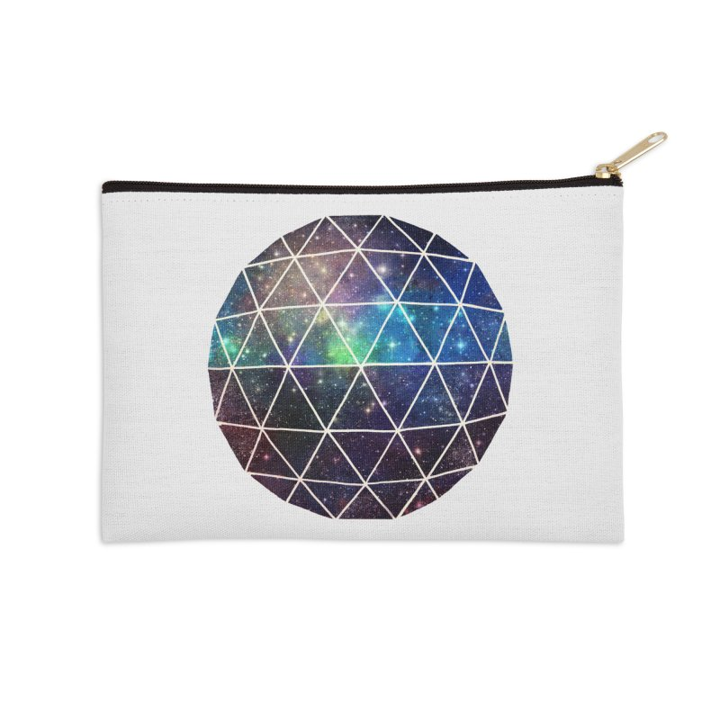 Space Geodesic Accessories Zip Pouch by terryfan