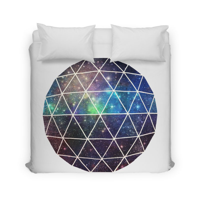 Space Geodesic Home Duvet by terryfan