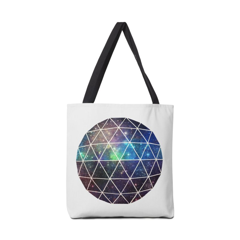 Space Geodesic Accessories Bag by terryfan