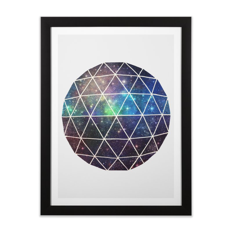 Space Geodesic Home Framed Fine Art Print by terryfan