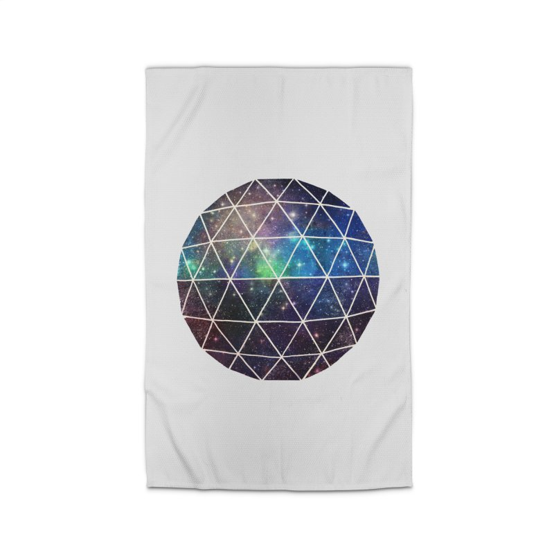 Space Geodesic Home Rug by terryfan