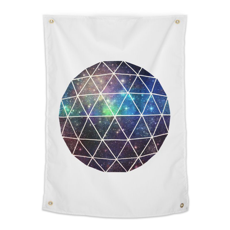 Space Geodesic Home Tapestry by terryfan