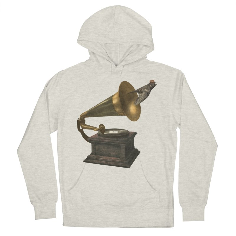 Vintage Songbird Men's French Terry Pullover Hoody by terryfan